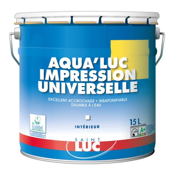 AQUA'LUC IMPRESSION UNIVERSELLE - Peintures professionnelles Saint-Luc