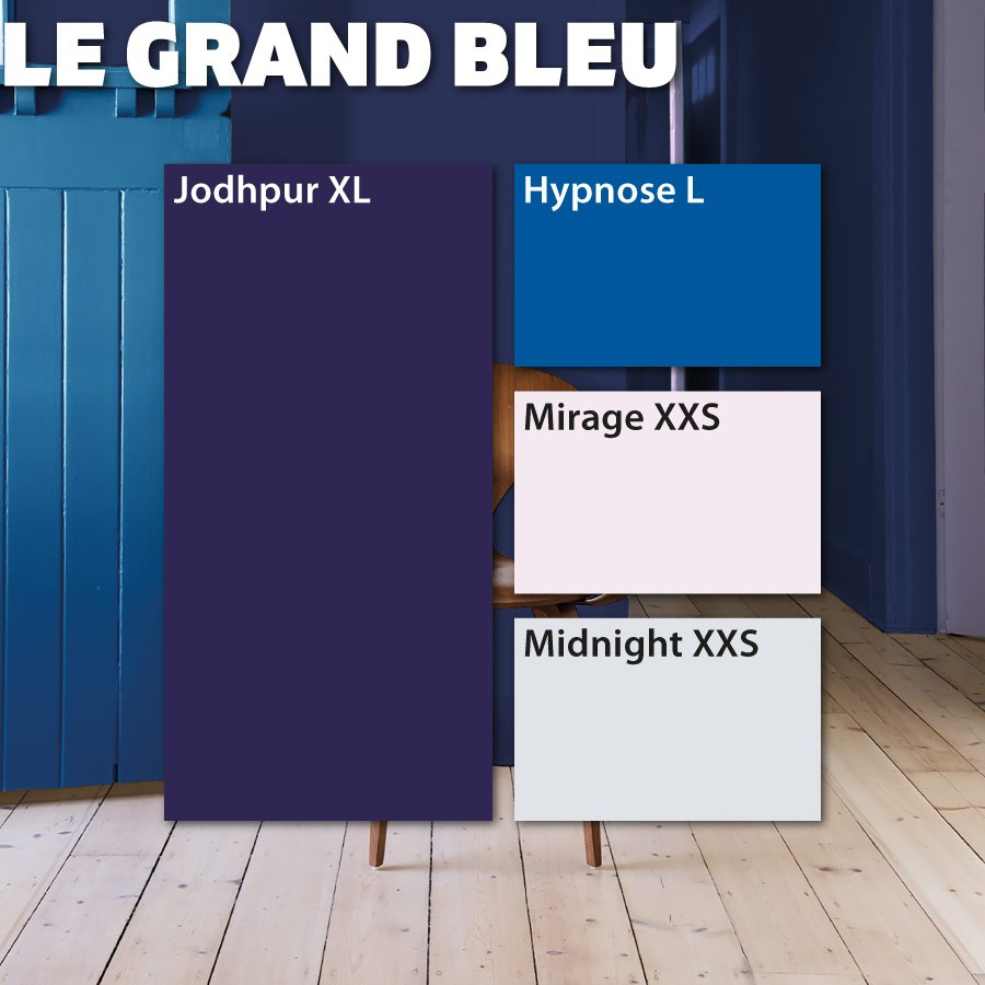 Couleurs Grand Bleu