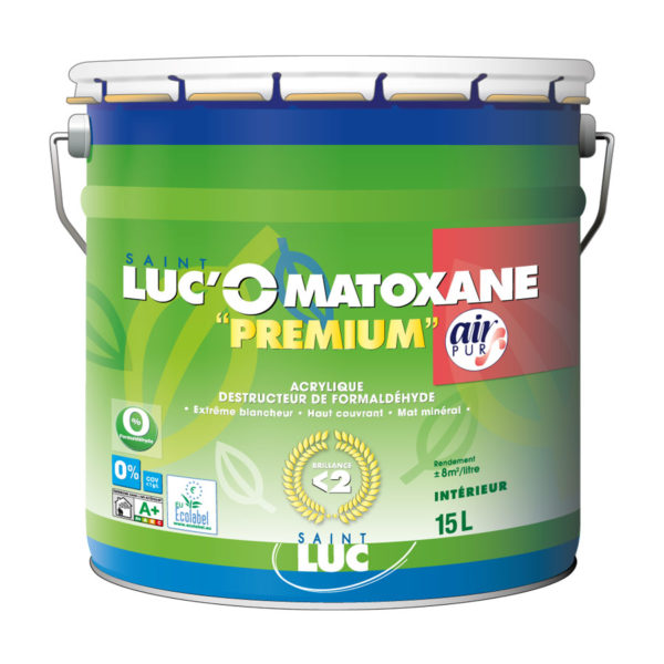 Nouvel emballage 2020 SAINT-LUC'O MATOXANE Premium