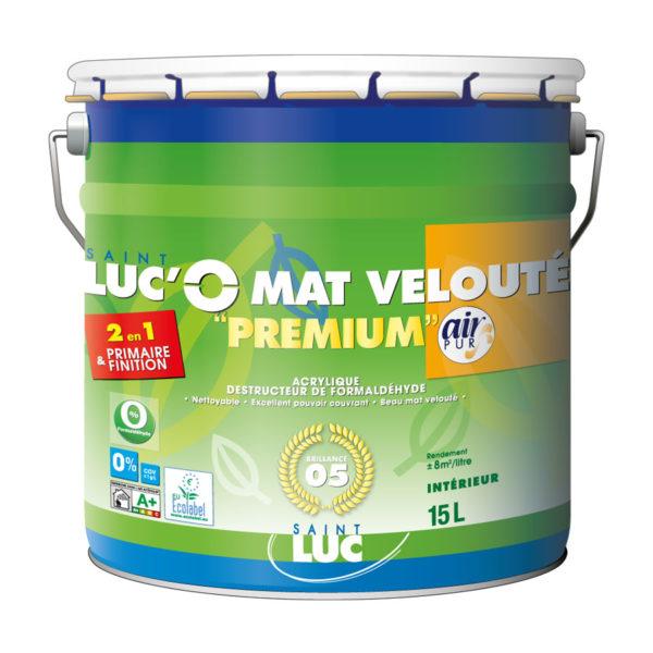 SAINT-LUC'O MAT VELOUTÉ Premium 2en1 – Air Pur