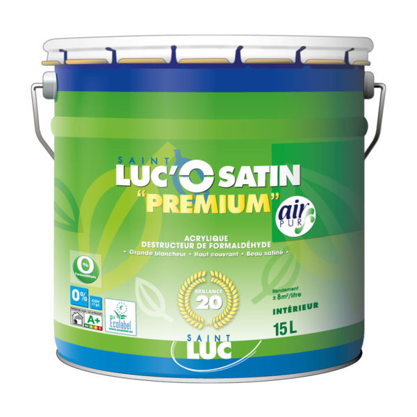 SAINT-LUC'O SATIN PREMIUM – Air pur