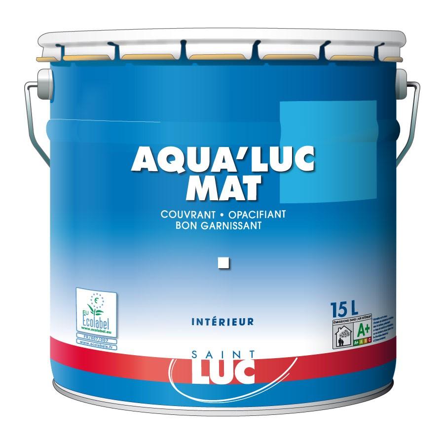 AQUA'LUC MAT - PEINTURES SAINT-LUC - Gamme Classic