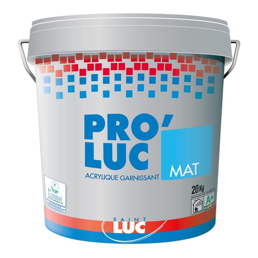 PRO'LUC MAT - GAMME PRO Peintures Saint-Luc