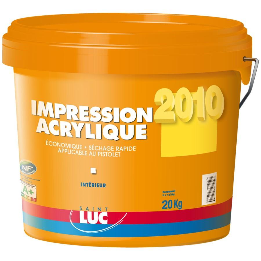 IMPRESSION ACRYLIQUE - SAINT-LUC - Gamme Grands Chantiers