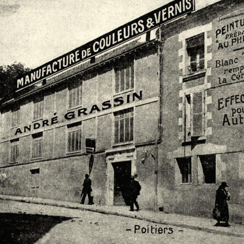 André Grassin - Origine Peintures Saint-Luc