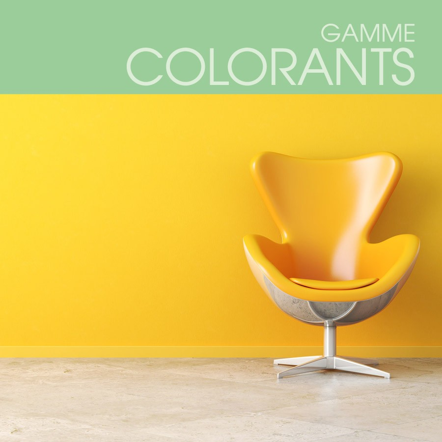 Gamme Colorants