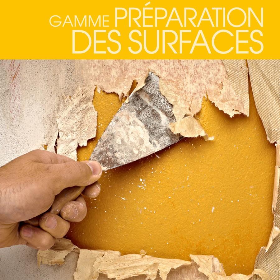 Gamme Préparations des Surfaces