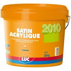 SATIN ACRYLIQUE - PEINTURES SAINT-LUC - Gamme Grands Chantiers