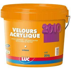 VELOURS ACRYLIQUE - PEINTURES SAINT-LUC - Gamme Grands Chantiers