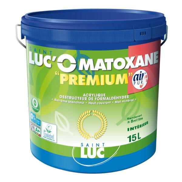 Ancien emballage SAINT-LUC'O MATOXANE PREMIUM