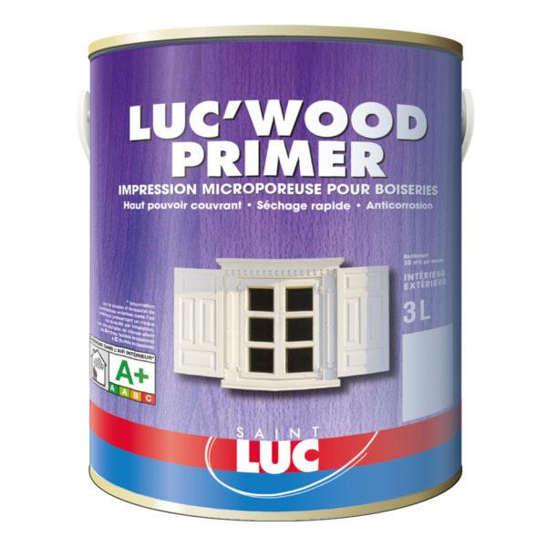 LUC'WOOD PRIMER 3 litres