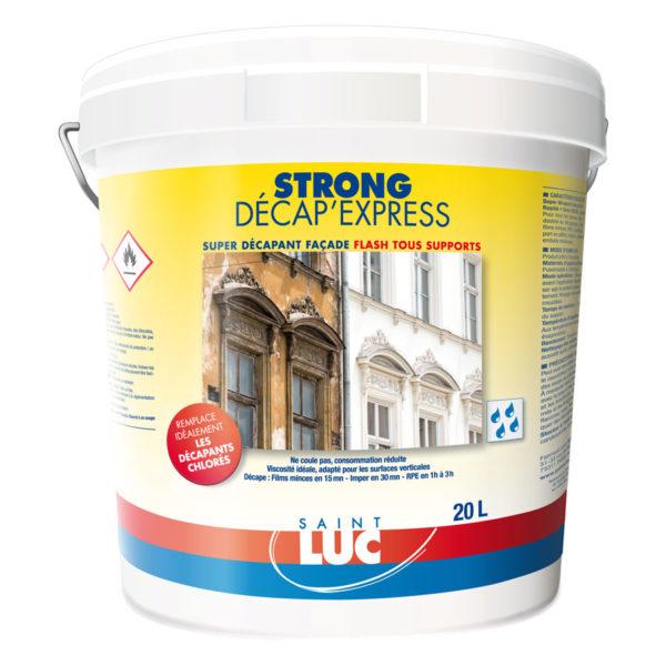 STRONG DÉCAP'EXPRESS - PEINTURES SAINT-LUC - Gamme Préparation des surfaces
