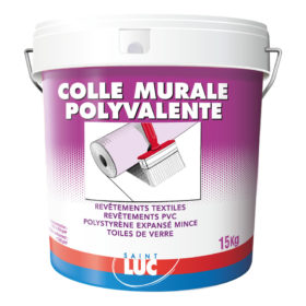 COLLE MURALE POLYVALENTE 15kg - PEINTURES SAINT-LUC - Gamme Colles & Enduits