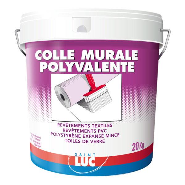 COLLE MURALE POLYVALENTE - PEINTURES SAINT-LUC - Gamme Colles & Enduits