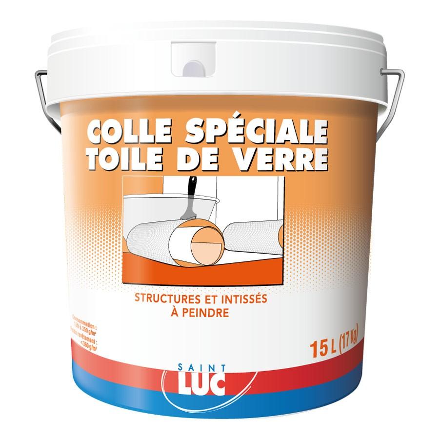 COLLE SPÉCIALE TOILE DE VERRE - Peintures Professionnelles Saint-Luc