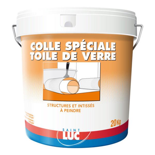 COLLE SPECIALE TOILE DE VERRE - PEINTURES SAINT-LUC - Gamme Colles & Enduits