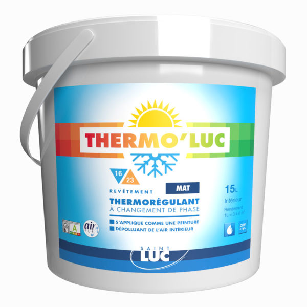 THERMO'LUC MAT AIR PUR - Peintures Saint-Luc