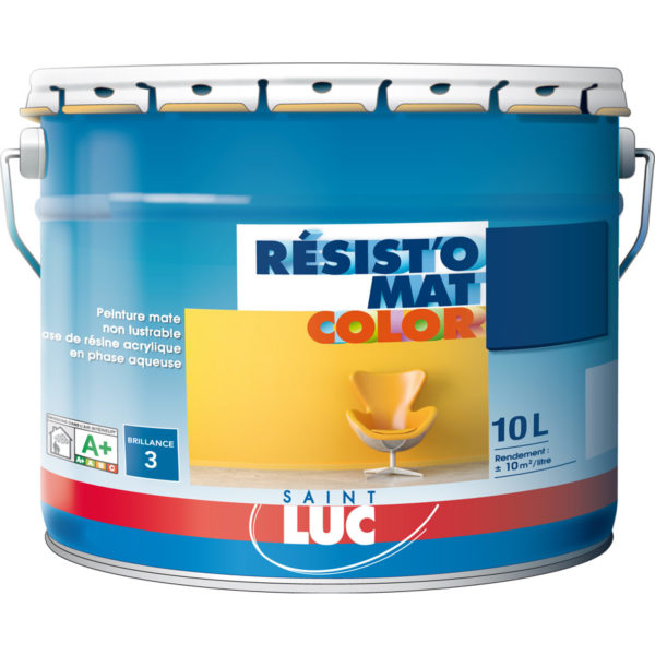 Résist'o Mat Color - 10L