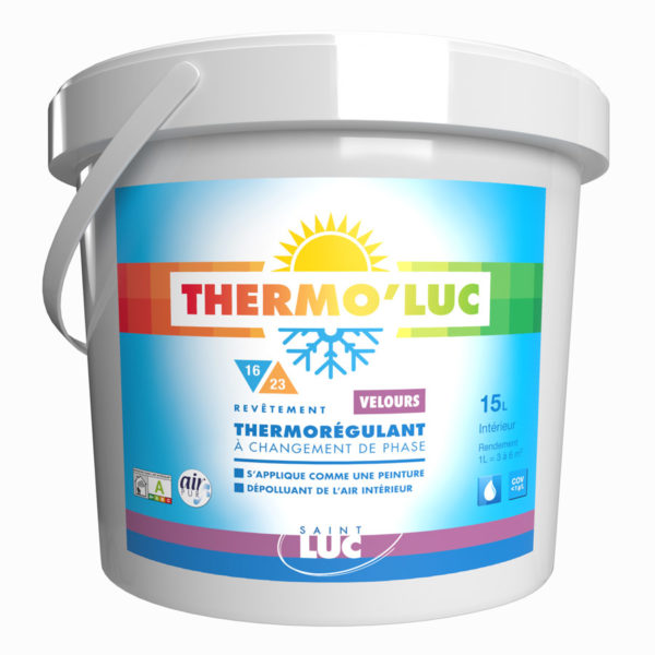 THERMO'LUC VELOURS AIR PUR - Peintures Saint-Luc