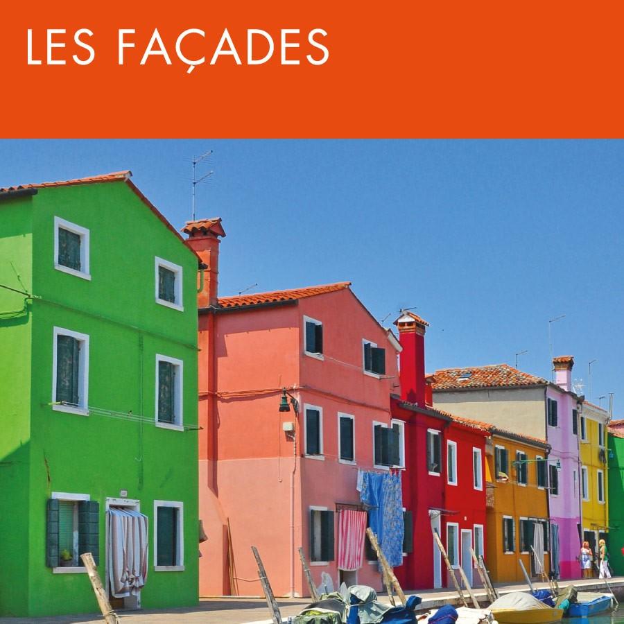 Gamme par usages - Les facades