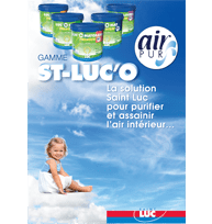Guide AIR PUR - GAMME SAINT-LUC'O - peintures professionnelles Saint-Luc