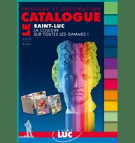 Peintures professionnelles Saint-Luc - LE CATALOGUE 2019