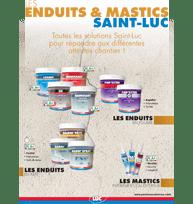 Guide - Enduits et Mastics - Peintures professionnelles Saint-Luc