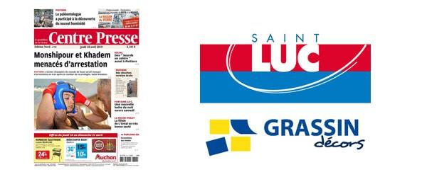 Centre-Presse avril 2019 Grassin Décors Peintures Saint-Luc