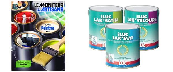 Le moniteur des artisans - février 2019 - Peintures Saint-Luc iLUC'LAK