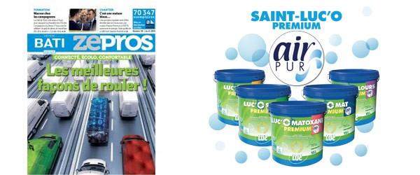 Zepros - Saint-Luc'O Air-Pur s'attaque aux formaldéhydes