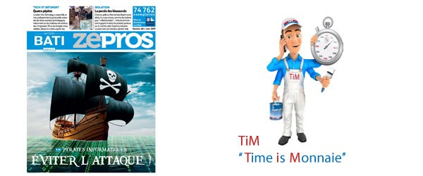 Zepros métiers bati juin 2019 Time is Monnaie Peintures Saint-Luc